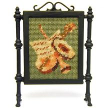 Music dollhouse needlepoint firescreen kit