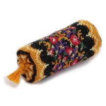 Dollhouse needlepoint bolster cushion kit - Berlin Woolwork
