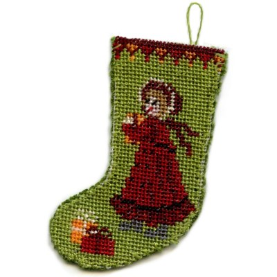 Christmas stocking kit - Victorian Girl
