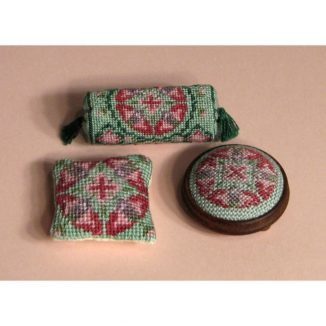 Dollhouse needlepoint Anthea collection of kits