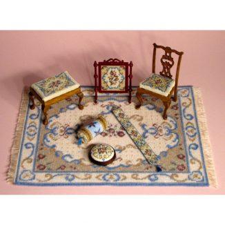 Dollhouse needlepoint Judith matching kits