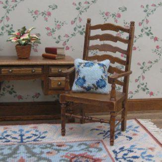 pillow cushion kit dollhouse needlepoint petit point embroidery