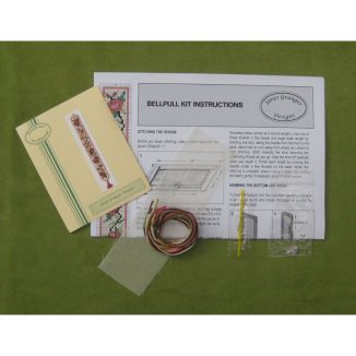 bell pull kit dollhouse needlepoint petit point embroidery