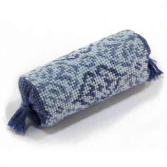 Bolster cushion kit - Blue Lace