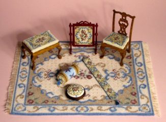 Dollhouse needlepoint Judith collection of kits