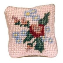 Bella dollhouse needlepoint cushion kit