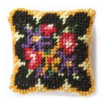 Berlin Woolwork dollhouse needlepoint cushion kit