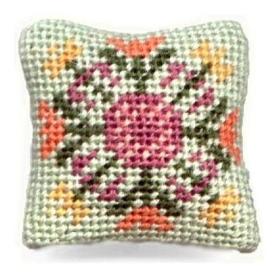 Elizabeth dollhouse needlepoint cushion kit