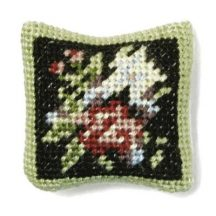 Jessica dollhouse needlepoint cushion kit