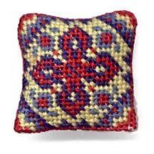 Katrina dollhouse needlepoint cushion kit