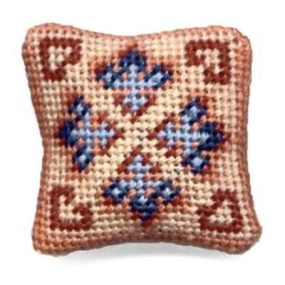 Patricia dollhouse needlepoint cushion kit