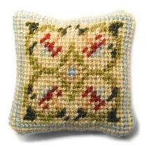 Prudence (cream) dollhouse needlepoint cushion kit