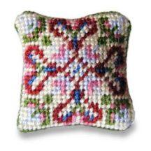 Sophie dollhouse needlepoint cushion kit