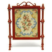 Judith dollhouse needlepoint firescreen kit