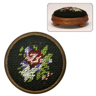 Dollhouse needlepoint footstool kit Jessica