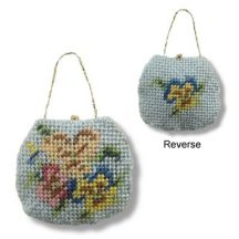 Handbag kit - Pansies