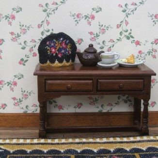 Berlin woolwork teacosy dollhouse needlepoint petit point embroidery kit accessories
