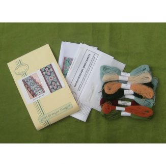 stair runner carpet kit dollhouse needlepoint petit point embroidery
