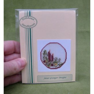 s table centre placemat kit dollhouse needlepoint petit point embroidery