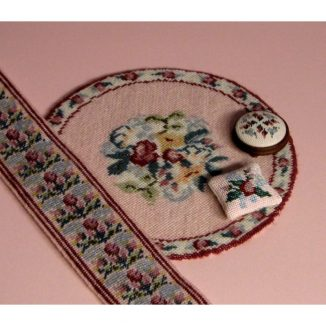 Dollhouse needlepoint Bella collection of kits