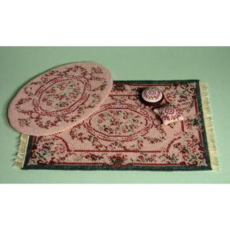 Dollhouse needlepoint Kate pink collection of kits
