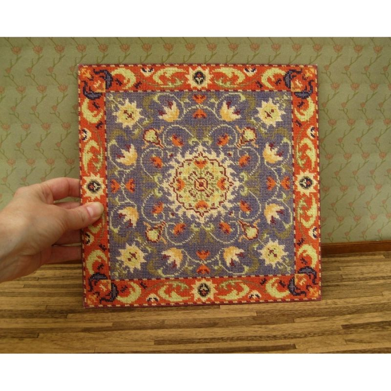 Elizabeth Dollhouse Needlepoint Carpet Kit Dollhouse
