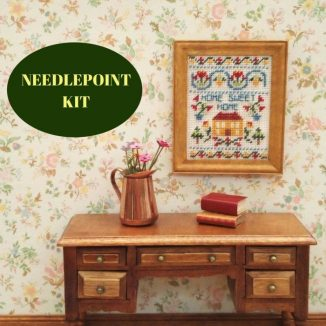 sampler kit dollhouse needlepoint embroidery