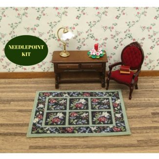 dollhouse needlepoint rug kit