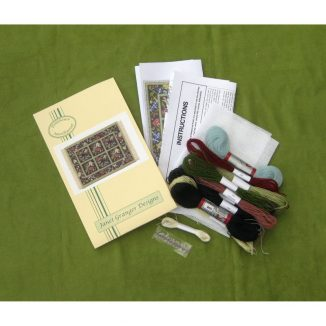 Jessica dolls house miniature needlepoint embroidery petit point kit