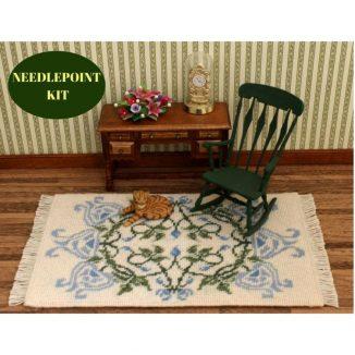 dollhouse needlepoint rug kit