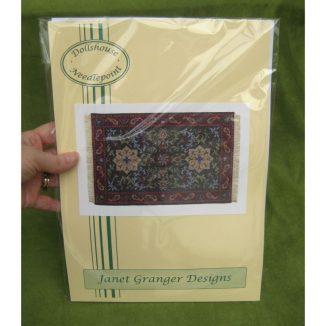 Karen carpet dollhouse needlepoint rug kit
