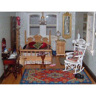 Katrina carpet miniature dollhouse embroidery kit