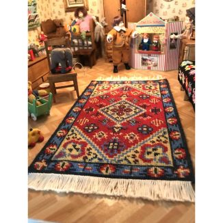 Katrina nursery carpet miniature dollhouse embroidery kit