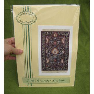 May blue packet dollhouse needlepoint kit