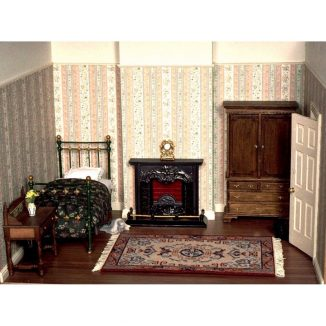 Patricia Bedroom miniature dollhouse needlepoint embroidery kit