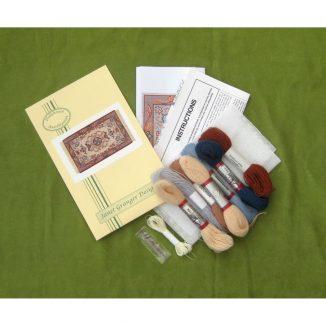 Patricia kit contents miniature dollhouse needlepoint embroidery kit