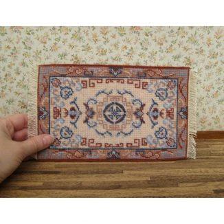 Patricia carpet rug miniature dollhouse needlepoint embroidery kit