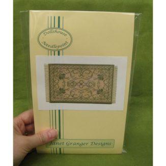 Rosanna green dolls house miniature needlepoint embroidery petit point kit