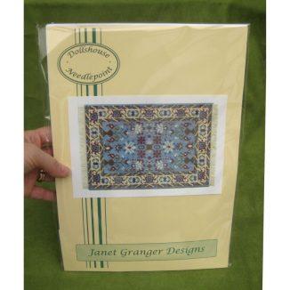 Saskia carpet dollhouse needlepoint rug kit