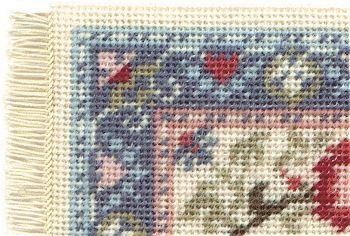 Corner of a Carole pastel carpet