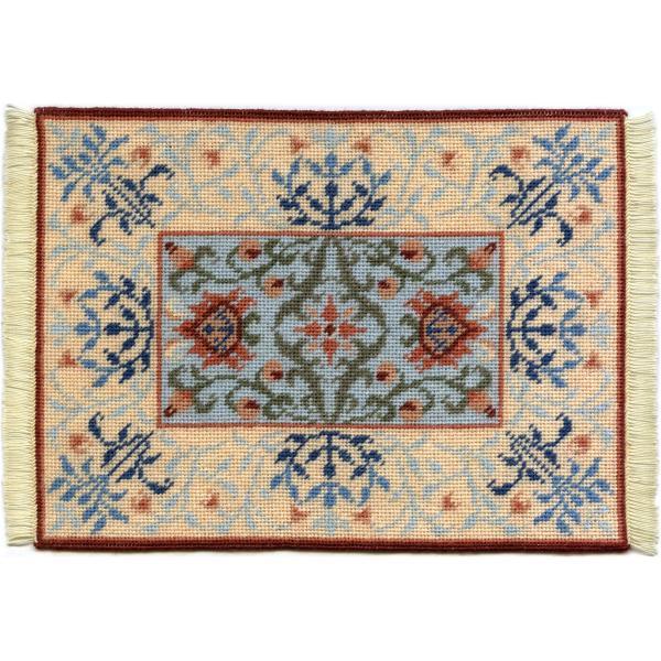 Eleanor dollhouse needlepoint carpet
