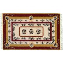Esther, large, dollhouse needlepoint carpet