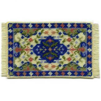 Gwen (cream) dollhouse needlepoint carpet
