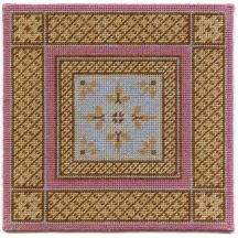 Isobel dollhouse needlepoint carpet