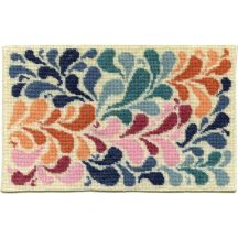 Janine dollhouse needlepoint carpet