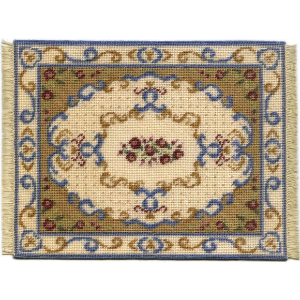 Judith dollhouse needlepoint carpet