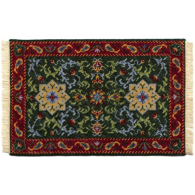 Karen dollhouse needlepoint carpet