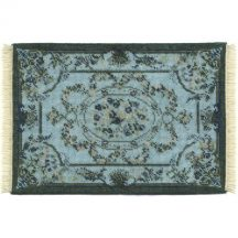 Kate large (blue) dollhouse needlepoint carpet