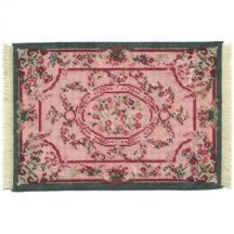 Kate large (pink) dollhouse needlepoint carpet