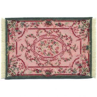 Kate large (pink) dollhouse needlepoint carpet